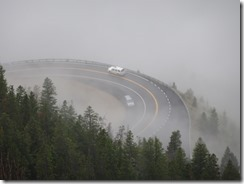 Beartooth Highway windy road