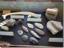 Billings Pictograph Cave artifacts