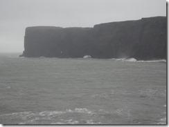 Dyrholaey steep cliffs