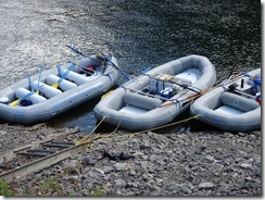 Hells CAnyon rafts