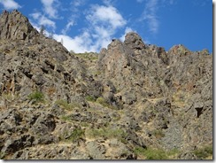 Hells Canyon magestic cliffs
