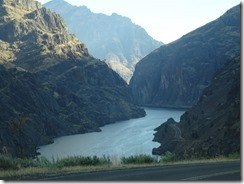 Hells Canyon road view