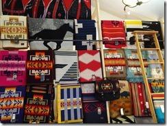 Little Bighorn Battlefield Trading Post blankets