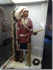 Little Bighorn National Park Inidan dress