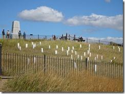 Little Bighorn National Park grave markets