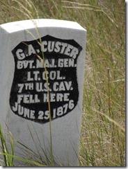 Little Bighorn - Where Custer fell market