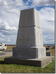 Little Bighorn memorial