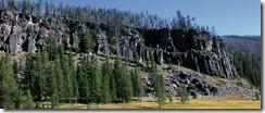 Obsidian Cliff Yellowstone