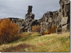 Pingvelie National Park free standing rocks