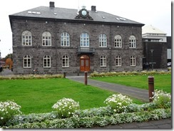 Reykjavik parliament building