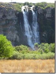 Ritter Island waterfall