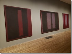 Rothko murlas for Four SEasons