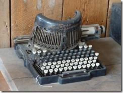 Virginia City old typewriter