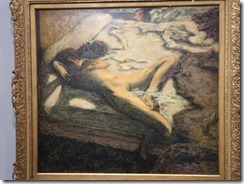 Paris L'Orangerie - Bonnard Woman on a bed