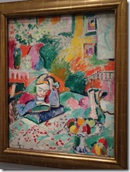 Paris L'Orangerie - Matisse - The lecture