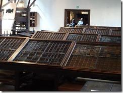 Antwerp Plantin-Moretus Museum type face