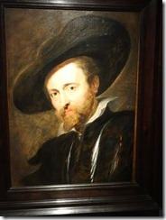 Antwerp - Rubens self portrait