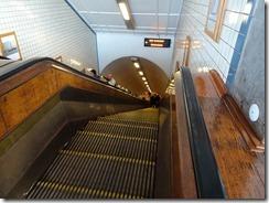 Antwerp - St Anne's Tunnel escalator down