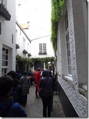Antwerp Vlaakensgang alley