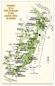 Beaune Appelation Map