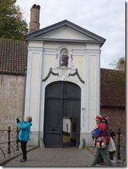 Bruges - Beguinane entrance