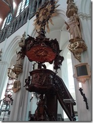 Bruges - Church of Our Lady pulpit