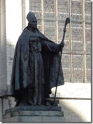 Brussels - Cardinal Mercier Statue