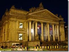 Brussels - La Borse at night
