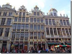 Brussels - Le Renard, Le Cornet and Le Roi D'espagne buildings