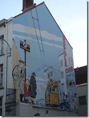 Brussels - comic murals