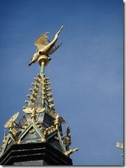 Ghent - Dragon n top of Belfry