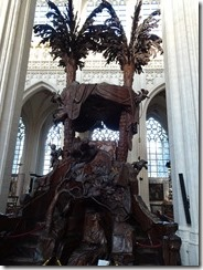 Leuven - St Peter's Church pulpit