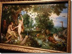 Mauritius Museum - Rubens and Bruegham Adam and Eve