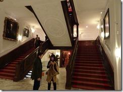 Mauritius Museum stairway