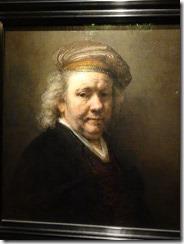 Mauritshuis Museum - Rembrandt - Self Portrait 1669