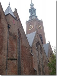 The Hague - Former large Church now an exhibition hall