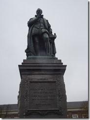 The Hague Willlian of Orange Statue
