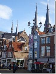 Delft - Markt buildings