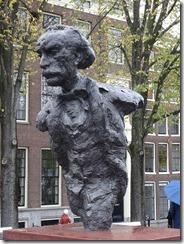 Amsterdam - Multatuli statue