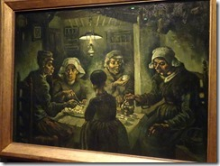Amsterdam - Van Gogh Museum - Potato Eaters
