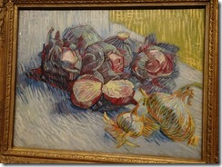 Amsterdam - Van Gogh Museum - Red Cabbages and Onions