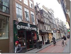 Amsterdam - Warmoesstraat street