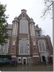 Amsterdam - west church where Anne Frank heard the bells