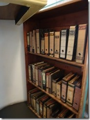 Anne Frank house - bookcase that hid the entrance