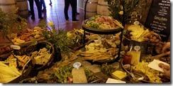 Premier Napa Pritchard Hill food spread
