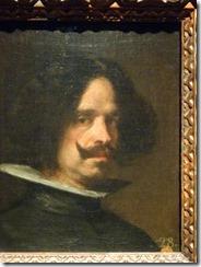 Rembrandt vs Velazques self portraits