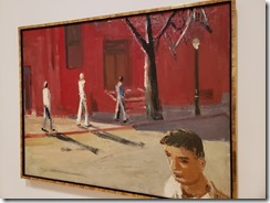 Park - Boston Street Scene 1954