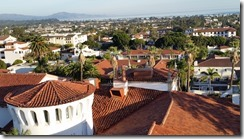 Santa Barbara courthouse view from tower