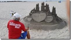 Hotel Del Coronado sand sculpture 03