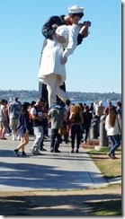 San Diego Kissing Statue